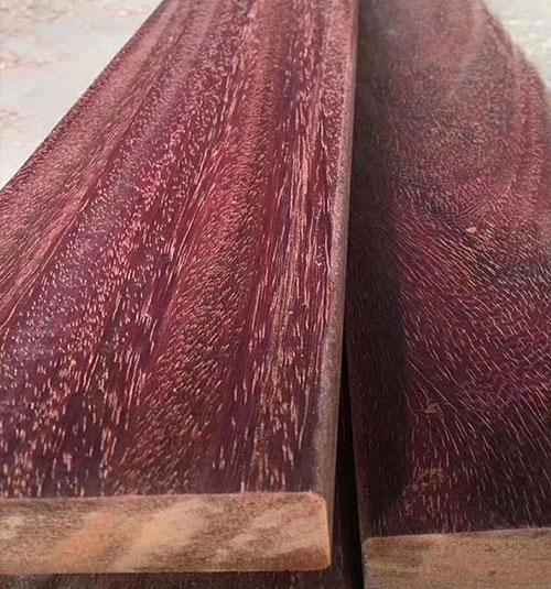 非洲红菠萝格原材